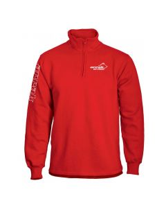 Runner Halfzip Red Sweatshirt