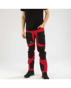 Active Stretch Pants Men Red