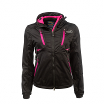 Akka Softshell Jacket Black Women| Arrak Outdoor
