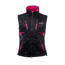Acadia Softshell Vest Women Pink/Black