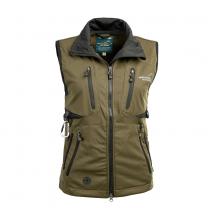 Acadia Softshell Vest Olive Women
