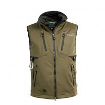 Acadia Softshell Vest Olive Men