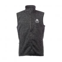 Vette Fleece Vest Men Black