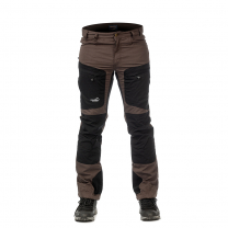 Active Stretch Pants Short Men Brown