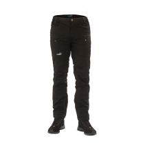 Active Stretch Pants Long Men Black