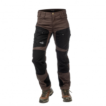 Active Stretch Pants Long Women Brown | Arrak Outdoor