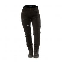 Active Stretch Pants Long Women Black   Arrak Outdoor