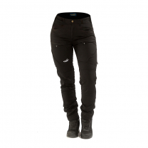 Active Stretch Pants Short Women Black   Arrak Outdoor