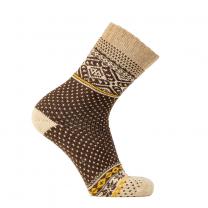 Arrak Wool Outdoor Sock Brown
