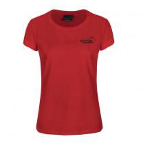 Pro 99 Cotton T-shirt Women Red | Arrak Outdoor