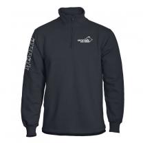 Runner Halfzip Black Sweatshirt