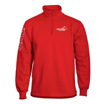 Runner Halfzip Red Sweatshirt