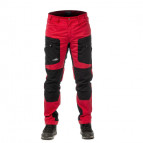 Active Stretch Pants Long Men Red