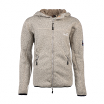 Pilefleece Hood Men Grey