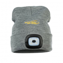 Arrak Knitted Hat LED Grey