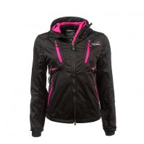 Arrak Akka Softshell Jacket Women Black/Pink