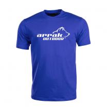 Arrak  Cotton T-shirt Royal Blue