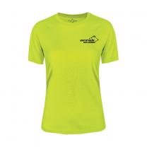 Function T-shirt Women Yellow | Arrak Outdoor