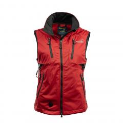 Acadia Softshell Vest Red Women | Arrak Outdoor