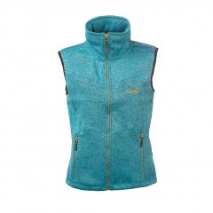 Vette Fleece Vest Women Turqoise