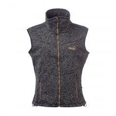 Vette Fleece Vest Women Black