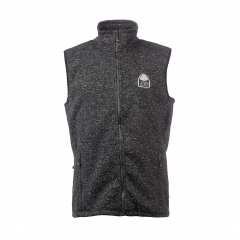 Vette Fleece Vest Men Black