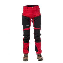 Active Stretch Pants Short Women Red | Arrak Outdoor