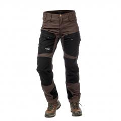 Active Stretch Pants Short Women Brown | Arrak Outdoor