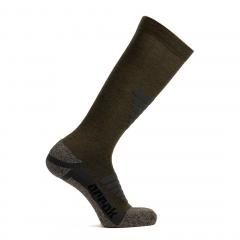 Arrak Hiking Sock High Olive