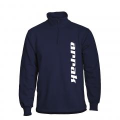 Arrak Runner Sweatshirt Halfzip Navy