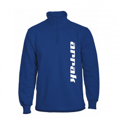 Arrak Runner Sweatshirt Halfzip Royalblue