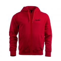 Arrak Zip Hood Junior Red