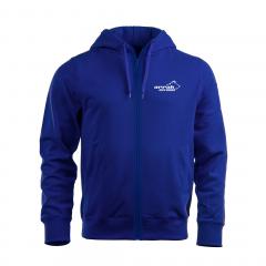 Arrak Zip Hood Junior Royal Blue