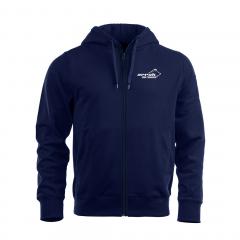 Arrak Zip Hood Junior Navy Blue