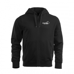 Arrak Zip Hood Junior Black