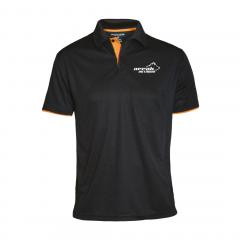 Pro 99 Function Pique With Contrast Color Men Black/Orange | Arrak Outdoor