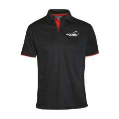 Pro 99 Function Pique With Contrast Color Men Black/Red | Arrak Outdoor