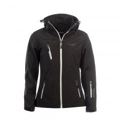 Arrak Softshell Jacket Women Black