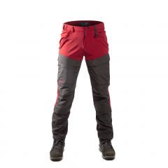 Hybrid Pants Men Red