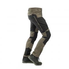 Arrak NEW Active Stretch Pants Men Brown (long)