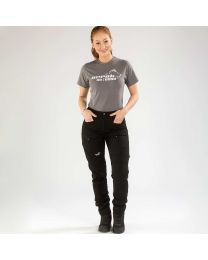 Active Stretch Pants Long Women Black | Arrak Outdoor
