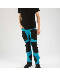 Active Stretch Pants Long Men Blue