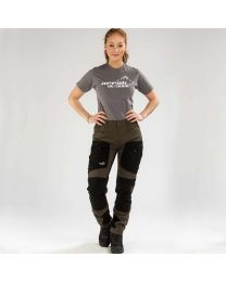 Active Stretch Pants Lady Brown | Arrak Outdoor