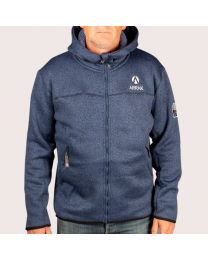 Pilefleece Hood Men Navy