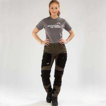 Active Stretch Pants Long Women Brown | Arrak Outdoor