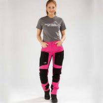 Active Stretch Pants Long Women Pink | Arrak Outdoor