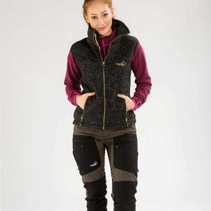 53386d7d3096 Vette Fleece Vest Women Black