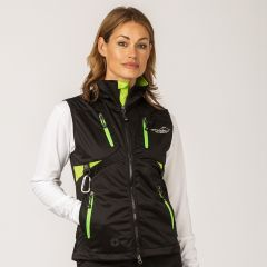 Acadia Softshell Vest Green Women