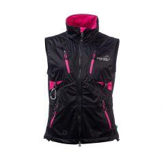Acadia Softshell Vest Women Pink/Black