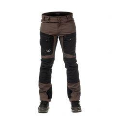 Active Stretch Pants Long Men Brown